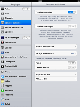 Apple iPad mini - Internet - configuration manuelle - Étape 5