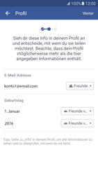 Samsung Galaxy S7 - Datenschutz und Sicherheit - Datenschutzeinstellungen von Facebook ändern - 11 / 35