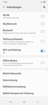 Samsung Galaxy A50 - Internet und Datenroaming - Prüfen, ob Datenkonnektivität aktiviert ist - Schritt 5
