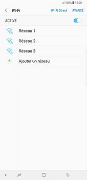 Samsung Galaxy Note 8 - Internet et connexion - Accéder au réseau Wi-Fi - Étape 7