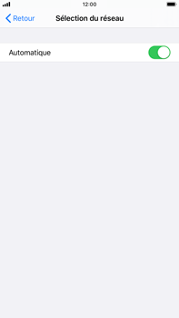 Apple iPhone 7 Plus - iOS 13 - Réseau - Utilisation à l