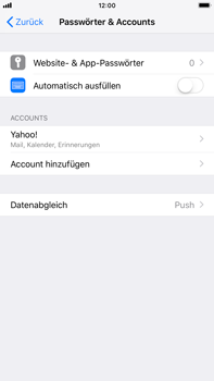 Apple iPhone 6s Plus - E-Mail - Konto einrichten (yahoo) - 9 / 11