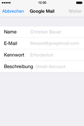 Apple iPhone 4S iOS 7 - E-Mail - 032a. Email wizard - Gmail - Schritt 7