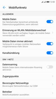 Huawei Mate 9 Pro - Netzwerk - Netzwerkeinstellungen ändern - Schritt 7