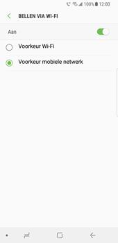 Samsung Galaxy S8 (G950) - Bellen - WiFi Bellen (VoWiFi) - Stap 8