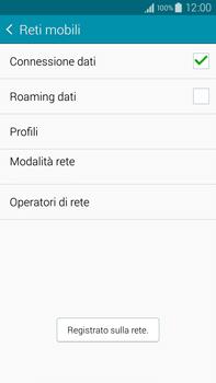 Samsung Galaxy Note 4 - Rete - Selezione manuale della rete - Fase 12