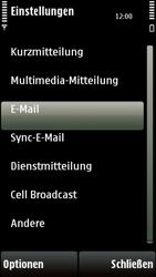 Nokia 5230 - E-Mail - Konto einrichten - 0 / 0