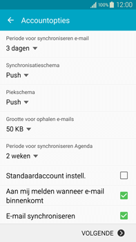 Samsung N910F Galaxy Note 4 - E-mail - handmatig instellen (outlook) - Stap 7