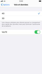 Apple iPhone 8 - iOS 14 - Réseau - Comment activer une connexion au réseau 4G - Étape 7