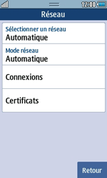 Samsung S5250 Wave 525 - Internet - Configuration manuelle - Étape 6