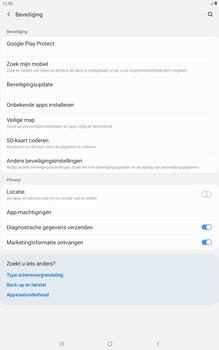 Samsung galaxy-tab-a-10-1-lte-2019-sm-t515 - Beveiliging en ouderlijk toezicht - Zoek mijn mobiel inschakelen - Stap 5