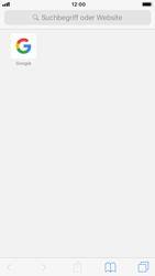 Apple iPhone 8 - iOS 12 - Internet und Datenroaming - Verwenden des Internets - Schritt 13