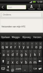 HTC T320e One V - E-mail - E-mails verzenden - Stap 5