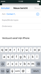 Apple iPhone SE (iOS 10) - e-mail - hoe te versturen - stap 6