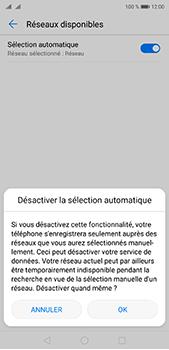 Huawei P20 Pro - Réseau - Sélection manuelle du réseau - Étape 7