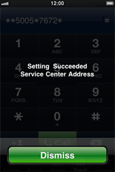 Apple iPhone 4 - SMS - Manual configuration - Step 7