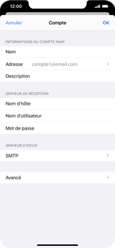 Apple iPhone XS Max - iOS 13 - E-mail - Configuration manuelle - Étape 24