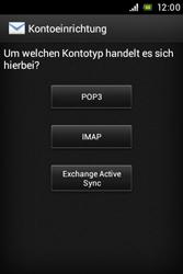 Sony Xperia E - E-Mail - Konto einrichten - 0 / 0