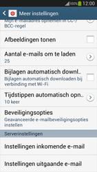 Samsung C105 Galaxy S IV Zoom LTE - E-mail - Instellingen KPNMail controleren - Stap 26