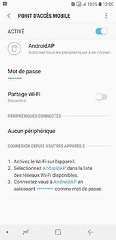 Samsung Galaxy A6 - Internet - comment configurer un point d'accès mobile - Étape 12