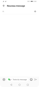 Huawei Y6P - Contact, Appels, SMS/MMS - Envoyer un SMS - Étape 4