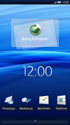 Sony Ericsson Xperia X10 - MMS - afbeeldingen verzenden - Stap 1