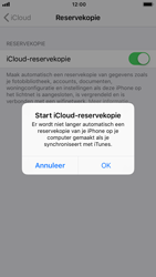 Apple iPhone 7 - iOS 12 - toestel resetten - back-up maken met jouw account - stap 13