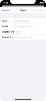 Apple iPhone XS - iOS 13 - E-mail - e-mail instellen: IMAP (aanbevolen) - Stap 7