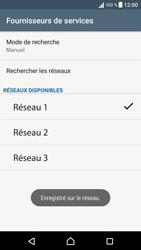 Sony Xperia XA - Réseau - Sélection manuelle du réseau - Étape 12