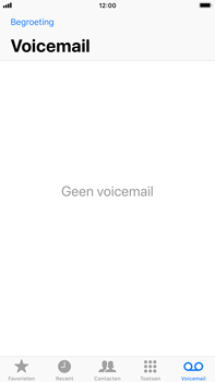 Apple iPhone 6 Plus - iOS 11 - Voicemail - Visual Voicemail - Stap 14