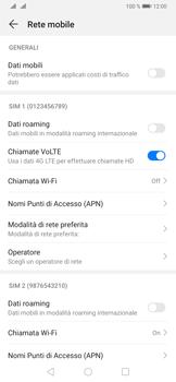 Huawei P30 - Internet e roaming dati - Come verificare se la connessione dati è abilitata - Fase 5