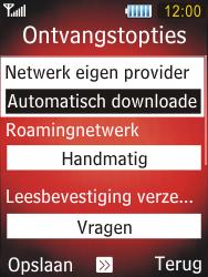 Samsung S5550 Chester - MMS - probleem met ontvangen - Stap 8