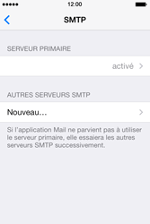 Apple iPhone 4S iOS 7 - E-mail - configuration manuelle - Étape 20