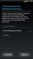 HTC One S - Apps - Einrichten des App Stores - Schritt 10