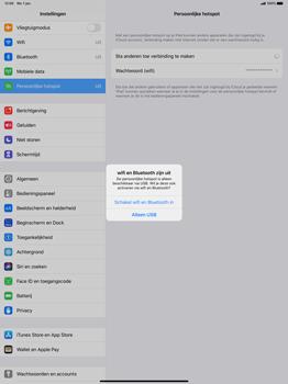 Apple iPad Pro 12.9 inch 4th generation (2020) (Model A2232) - WiFi - Mobiele hotspot instellen - Stap 7