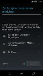 Sony Xperia T3 - Apps - Konto anlegen und einrichten - 20 / 22