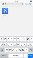 Apple iPhone 5c - Internet et roaming de données - Navigation sur Internet - Étape 13