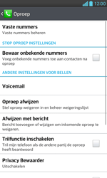 LG E975 Optimus G - Voicemail - handmatig instellen - Stap 6