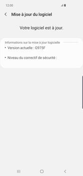 Samsung Galaxy S10 Plus - Logiciels - Installation de mises à jour - Étape 8