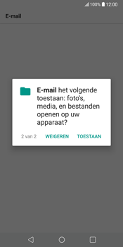 LG V30 (H930) - E-mail - Account instellen (IMAP met SMTP-verificatie) - Stap 22
