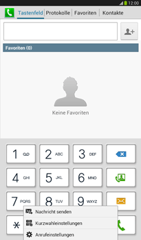 Samsung T211 Galaxy Tab 3 7-0 - Anrufe - Anrufe blockieren - Schritt 5