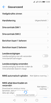 Huawei Mate 10 Pro Dual-SIM (Model BLA-L29) - SMS - SMS-centrale instellen - Stap 8