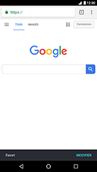 LG Nexus 5X - Android Oreo - Internet - Navigation sur Internet - Étape 9