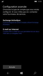 Microsoft Lumia 550 - E-mail - Configurer l