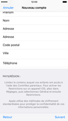 Apple iPhone 7 - Applications - Créer un compte - Étape 23