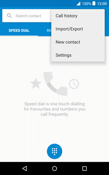 Alcatel Pixi 3 (8) - Voicemail - Handmatig instellen - Stap 5