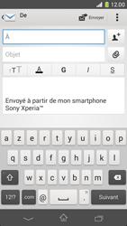 Sony D5503 Xperia Z1 Compact - E-mail - envoyer un e-mail - Étape 4