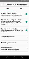 Huawei Y5 (2018) - Aller plus loin - Désactiver les données à l'étranger - Étape 5
