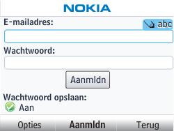 Nokia Asha 201 - E-mail - handmatig instellen - Stap 6