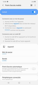 Samsung Galaxy S20 Ultra - Internet et connexion - Partager votre connexion en Wi-Fi - Étape 12